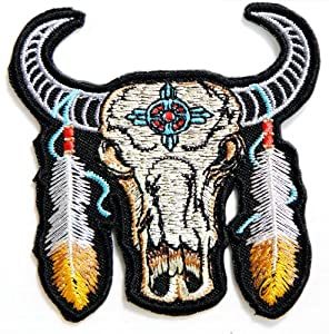 Amazon.com: Indian Feather Bull Buffalo Bison Choppers