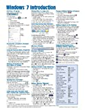 Windows 7 Quick Reference Guide (Cheat Sheet of Instructions, Tips & Shortcuts - Laminated Card)