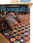 Floorquilts!: Fabric Decoupaged Floor...