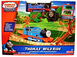 Thomas' Wild Ride Trackmaster Motorised Railway