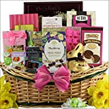 GreatArrivals Gift Baskets Divine Easter Sweets Chocolate and Sweets Gift Basket, Large, 6 Pound