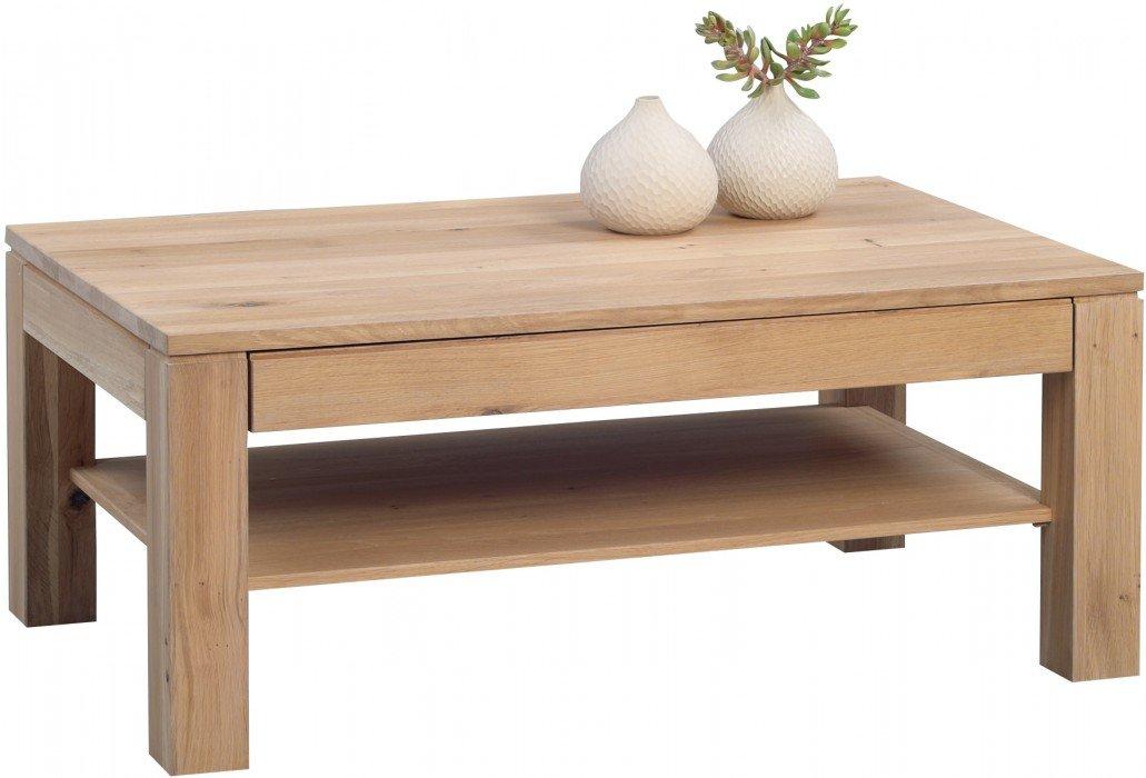 HomeTrends4You 244861 Couchtisch, 105 x 44 x 65 cm, Eiche Bianco massiv geölt bestellen
