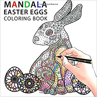 Mandala Easter Eggs: Coloring Book written by Sam Sara