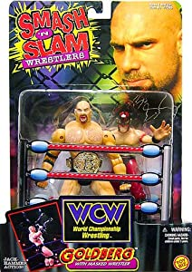 WCW Wrestling Smash 'N Slam Wrestlers Goldberg Vs. Masked Wrestler