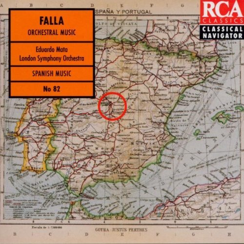 Falla: Nights in the Gardens of Spain / El Amor Brujo / Three Dances from The Three-Cornered Hat by Joaquin Achucarro (1995-05-29)