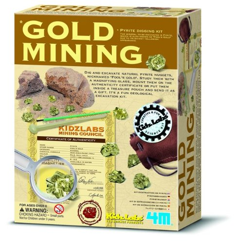 4M Gold Mining Kit (Kids Gold Panning Kit compare prices)