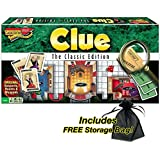 Clue The Classic Edition w/ FREE Storage Bag