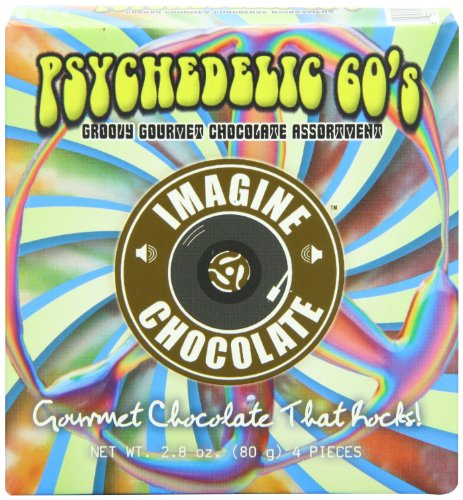 Imagine Chocolate Psychedelic 60's, 3 Ounce Picture