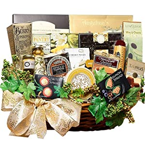 Art of Appreciation Gift Baskets   Grand Edition Gourmet Food Basket - Large