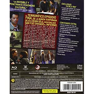 Sobrenatural - Sexta Temporada Completa [Blu-ray 3D] [Import espagnol]