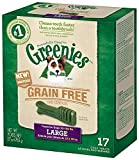 GREENIES Grain Free Dental Chews Large Treats for Dogs - 27 oz.