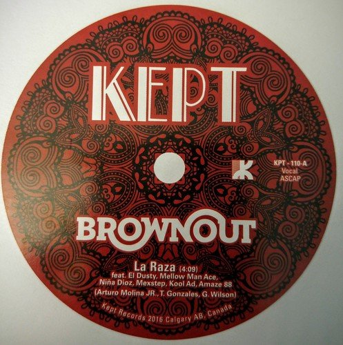 BROWNOUT - La Raza / Arabeesh