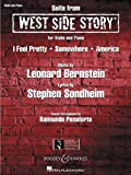 img - for West Side Story Suite: for Violin and Piano book / textbook / text book