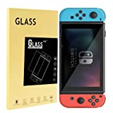 Tempered Glass Screen Protector for Nintendo Switch (3-Pack), LUPAPA [Shatter-proof, Anti-scratch, Full Coverage] 9H Hardness 99.9% High Definition Ultra Clear Protective Film for Nintendo Switch