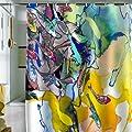 DENY Designs Mikaela Rydin Moving Shower Curtain