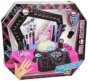 Loisir Créatif - Bar à Ongles et Tatoos - Monster High: Toys & Games