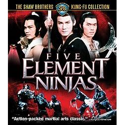 Five Element Ninjas [Blu-ray]