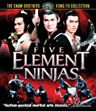 Image de Five Element Ninjas [Blu-ray]