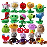 Teacity Plants vs.Zombies Soft Plush Toy Doll Split beans Plants Vs Zombies 16cm 20pc/lot New