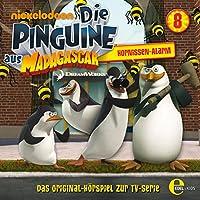Hornissen Alarm (Die Pinguine aus Madagascar 8) Hörbuch
