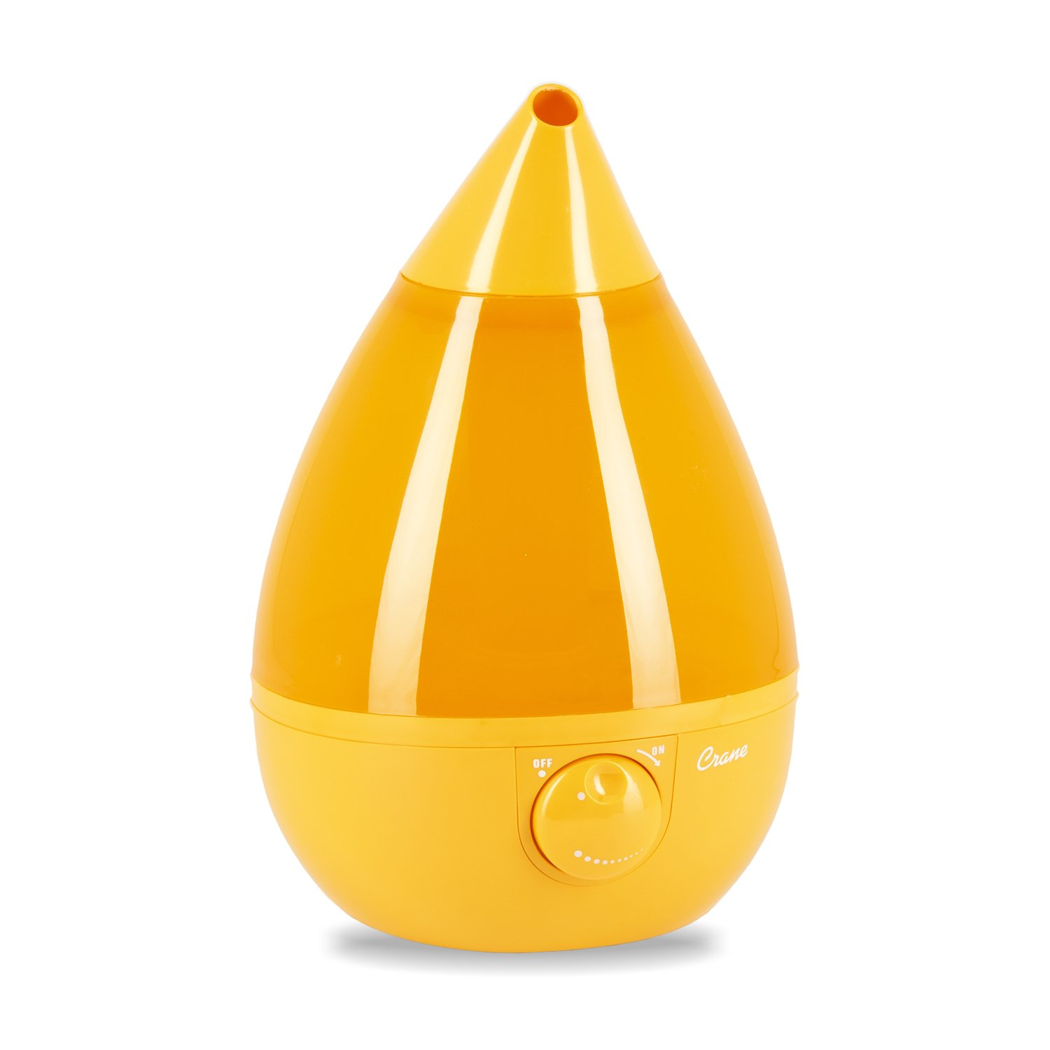Crane Drop Shape Cool Mist Humidifier Orange