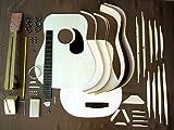 HOSCO ドレッドノートギターキット ローズウッドバック&サイド GR-KIT-D3