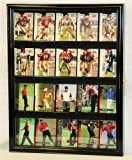 Sport Collectible Card Display Case Cabinet Holder Wall Rack