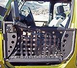 Body Armor 4x4 JK-6135Black - Steel Front Trail Doors 2007-2013 JK Jeep Wrangler (Pair)