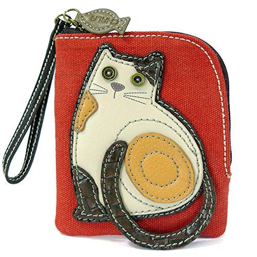 Key Fob Purse Charm Chala Slim Cat