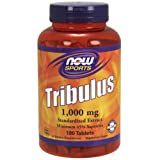 NOW Sports Tribulus 1000 mg,180 Tablets (Tamaño: 180)