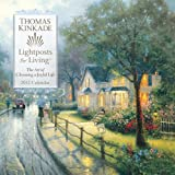 Thomas Kinkade Lightposts for Living: 2012 Wall Calendar