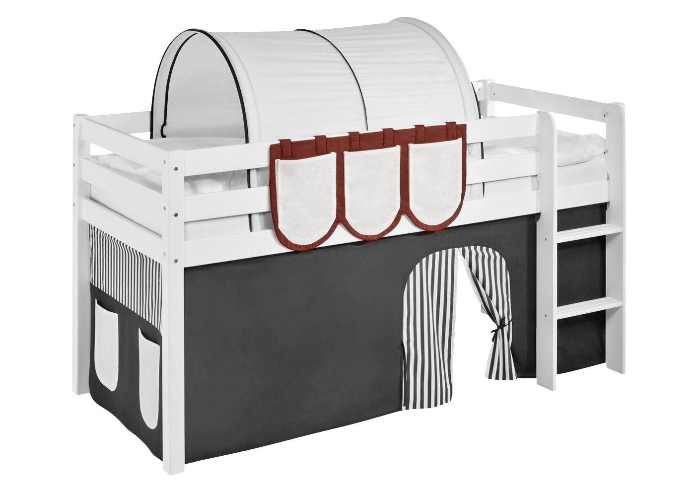 Lilokids Hängetaschen Braun Beige – für Hochbett, Spielbett und Etagenbett günstig bestellen
