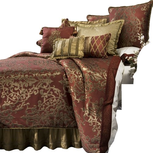 Red King Size Bedding 6360 front