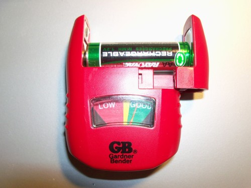 Household Battery Tester : Battery tester on shoppinder