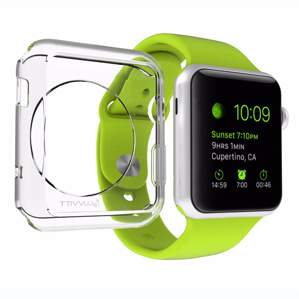 LUVVITT Clarity Case Accessory for Apple Watch