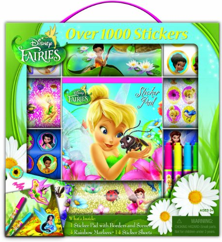 Bendon Disney Fairies Sticker Box with Handle Activity Set