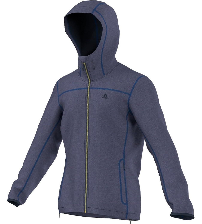 Adidas Luminaire Fleecejacke midnight grey jetzt kaufen