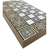 The 19'' Silver Star Backgammon Turkish Premium Board Game Set