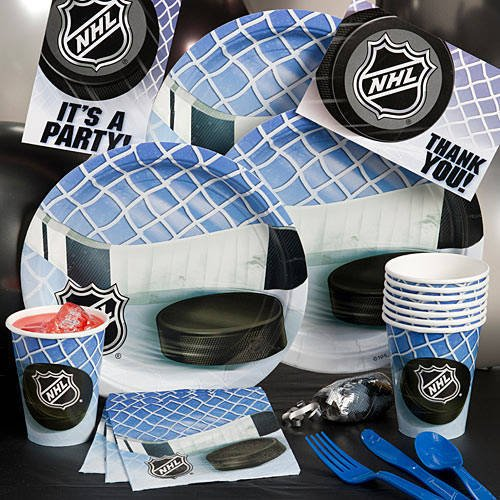 NHL Party Pack - Hockey Birthday Party Supplies