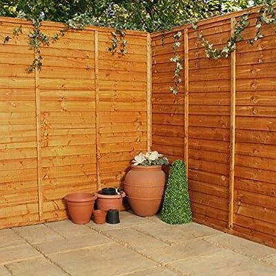 Horizontal Lap Fence Panels