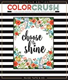 img - for Color Crush: An Adult Coloring Book, Premium Edition book / textbook / text book