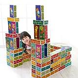 IFAM PlayBrick Paper Brick Block 紙レンガブロック,大型 30EA,学習効果がある紙レンガ(海外直送品)