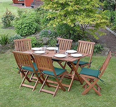 Concord 7 Piece Furniture Outdoor Garden Set