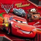 2012 Disney Cars 2 Grid Calendar