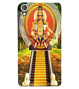Lord Ayyapa Designer Back Case Cover for HTC Desire 820 - B1280