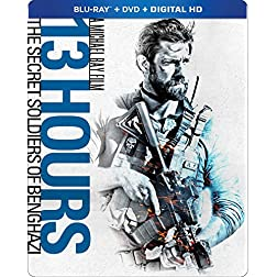 13 Hours: The Secret Soldiers of Benghazi [Blu-ray]