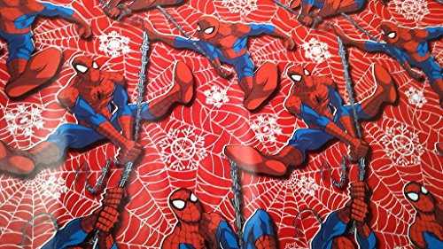 Christmas Wrapping Spider Man Holiday Paper Gift Greetings 1 Roll Design Festive Wrap Spider Man Marvel