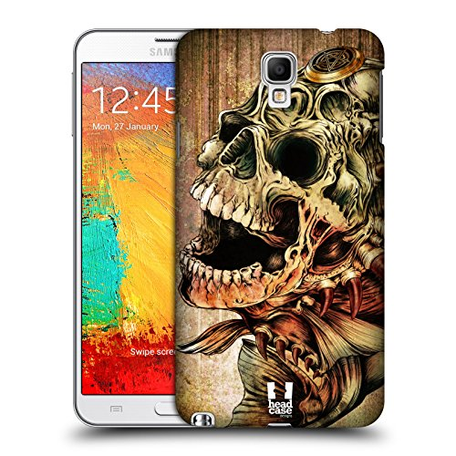 Head Case Designs Piranha Hydro Skulls Protective Snap-on Hard Back Case Cover for Samsung Galaxy Note 3 Neo N7505