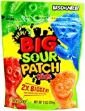 SOUR PATCH BIG SOUR PATCH KIDS 2X BIGGER SOFT & CHEWY CANDY 9 oz / 255g Resealable bag