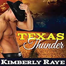 Texas Thunder: Rebel Moonshine, Book 1 (       UNABRIDGED) by Kimberly Raye Narrated by Rebecca Estrella